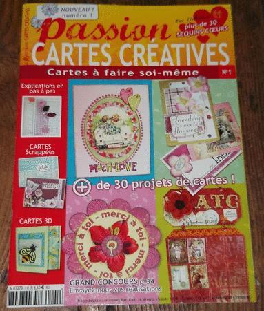 """Achat : Magazine """"passion cartes créatives"""" - n°1  (Loisirs, nature (livres)) - Loisirs, nature (livres) neuf et d'occasion - Achat et vente"""