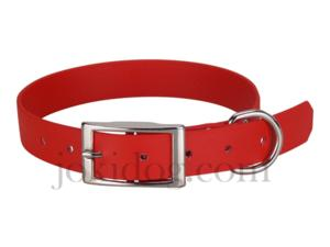 Collier biothane beta 25 x 60 cm rouge - jokidog