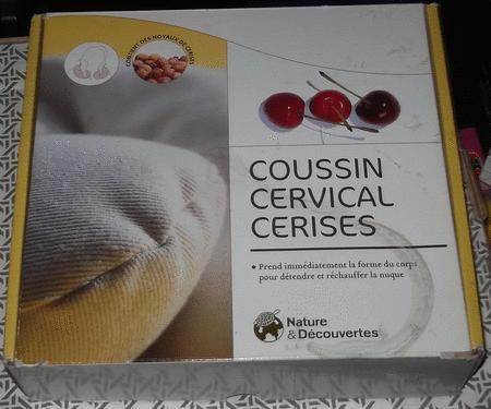Achat : Coussin cervical - nature & découvertes  (Autres équipements / maison) - Autres équipements / maison neuf et d'occasion - Achat et vente