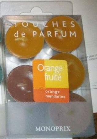 Achat : Bougies parfum orange mandarine  (Bougies) - Bougies neuf et d'occasion - Achat et vente