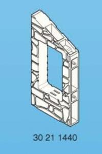Playmobil mur 60x120 sous pente pour fenêtre