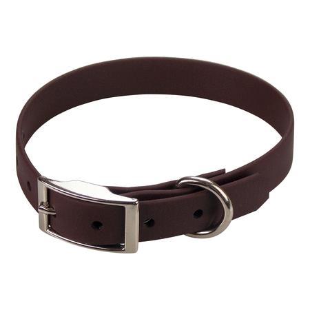 Achat : Collier biothane beta 19 x 45 cm marron foncé  (Colliers pour chiens) - Colliers pour chiens neuf et d'occasion - Achat et vente