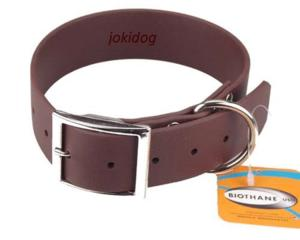 Collier biothane beta 38 x 60 cm marron - jokidog