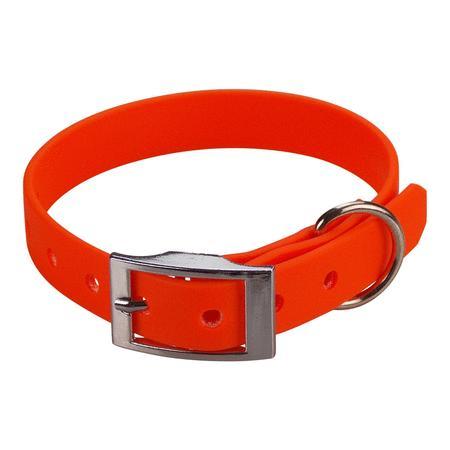 Achat : Collier biothane beta 16 x 35 cm orange  (Colliers pour chiens) - Colliers pour chiens neuf et d'occasion - Achat et vente