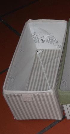 Achat : Boite de rangement pliable 2  (Boîtes de rangement) - Boîtes de rangement neuf et d'occasion - Achat et vente