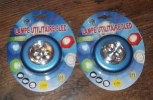 Lampes utilitaires 3led