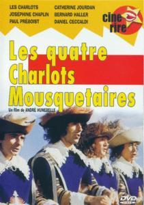 Dvd les quatre charlots mousquetaires les charlots