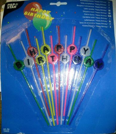 Achat : Bougies anniversaires sur tiges  (Bougies) - Bougies neuf et d'occasion - Achat et vente