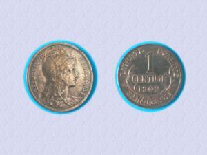 Incroyable état - piece 1 cts daniel-dupuis - 1902