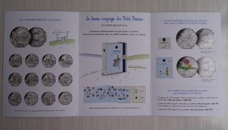 Achat : Dépliant monnaie de paris voyage du petit prince  (Pièces) - Pièces neuf et d'occasion - Achat et vente