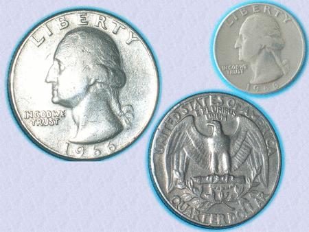 Achat : Très belle pièce quarter dollar de 1966 - washingt  (Pièces) - Pièces neuf et d'occasion - Achat et vente