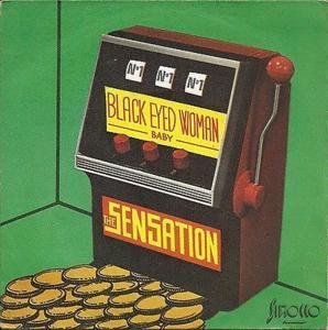 The sensation black eyed woman