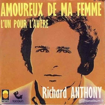 Achat : Richard anthony amoureux de ma femme  (Vinyles (musique)) - Vinyles (musique) neuf et d'occasion - Achat et vente