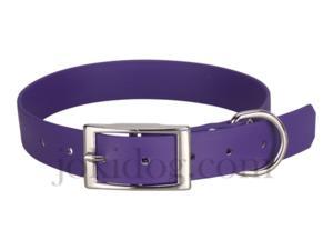 Collier biothane beta 25 x 55 cm violet