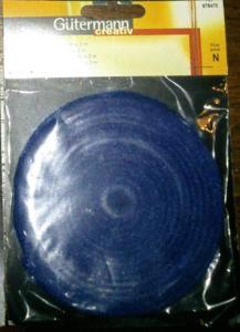 Loisirs créatif : ruban feutre bleu