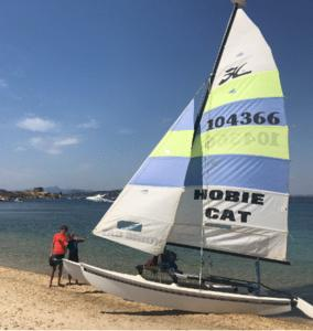 Hobie cat 16 basé au yacht club de toulon