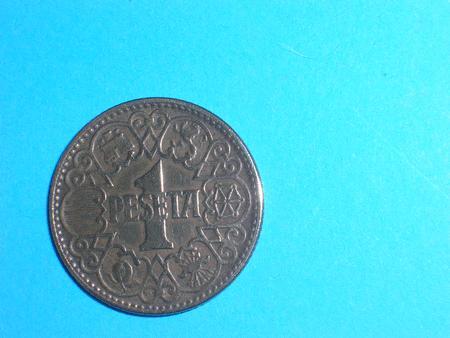 Achat : Piece - espagne - 1944 - 1 peseta  (Pièces) - Pièces neuf et d'occasion - Achat et vente