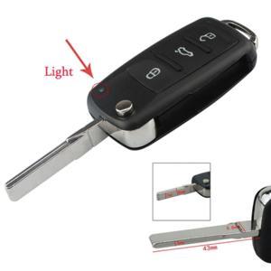 Coque de clé télécommande plip 3 boutons neuve