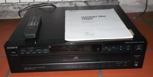 Lecteur 5 cd sony cdp-c425