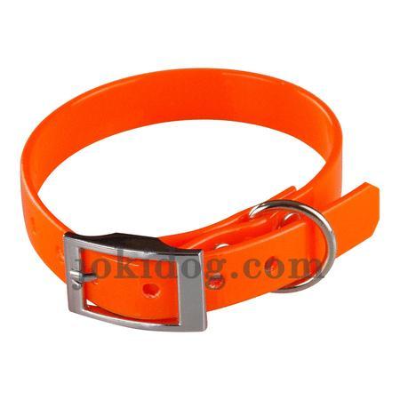 Achat : Collier biothane 16 mm x 35 cm orange  (Colliers pour chiens) - Colliers pour chiens neuf et d'occasion - Achat et vente