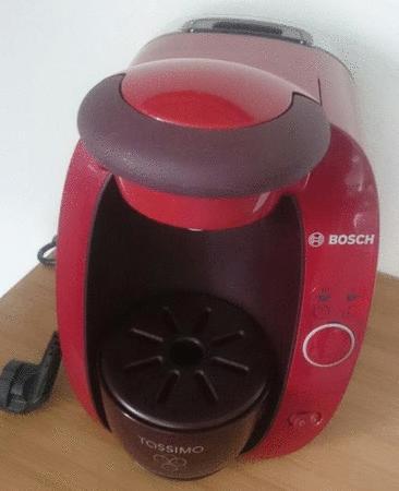 Achat : Cafetière expresso tassimo bosch rouge bordeau  (Machines à expresso) - Machines à expresso neuf et d'occasion - Achat et vente