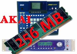 Barette mémoire 256 mo sampler akai z4 z8 mpc4000