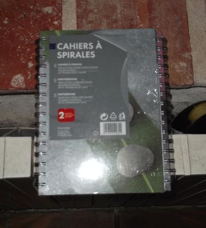Achat : Cahiers double spirale - a5 100 feuilles - 60 g/m²  (Autres équipements / maison) - Autres équipements / maison neuf et d'occasion - Achat et vente