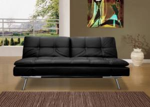 Canap㩠convertible lounge 3 places–double couchage