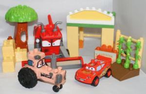 La ferme et le champ de cars lego mega bloks