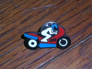 Pins competition moto elf