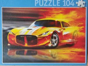 Puzzle course automobile