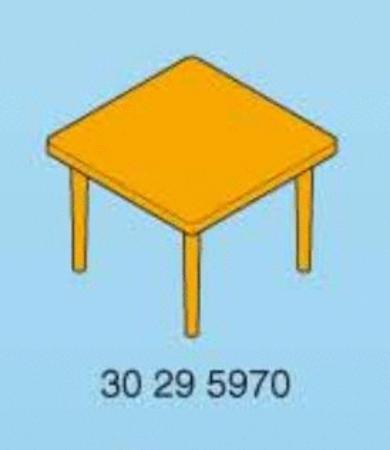 Achat : Playmobil table carrée  jaune  (Playmobil & play-big) - Playmobil & play-big neuf et d'occasion - Achat et vente