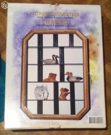 Achat : Étagère vitrine bois clair neuf  (Vitrines d'exposition) - Vitrines d'exposition neuf et d'occasion - Achat et vente