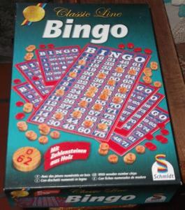"""Jeu """"bingo"""" de chez schmidt neuf"""