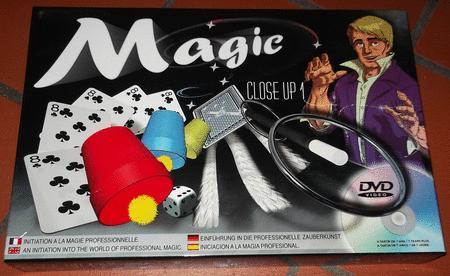 Achat : Close up 1 - initiation à la magie professionnell  (Autres jeux adultes) - Autres jeux adultes neuf et d'occasion - Achat et vente