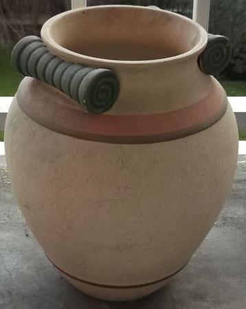Achat : Très beau pot de fleurs, style gréco-romain  (Pots de fleurs) - Pots de fleurs neuf et d'occasion - Achat et vente